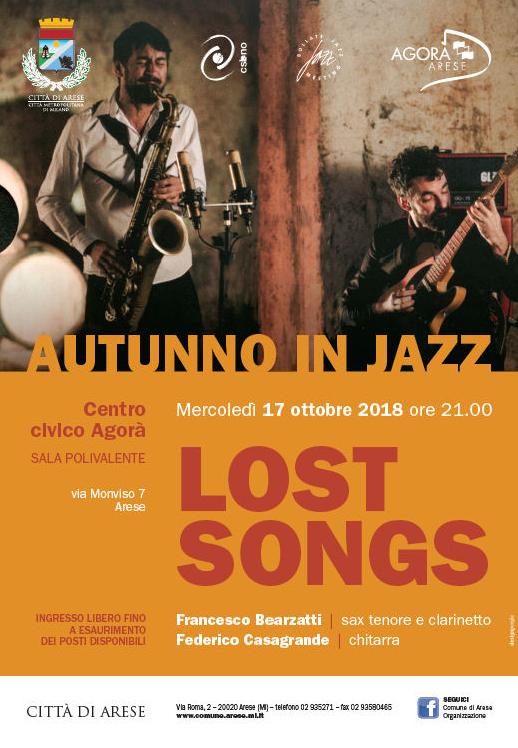 LOCANDINA LOST SONGS